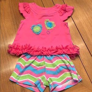 Girls Nursery Rhyme 2 pc Sz9M Outfit